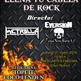 FIESTA LLENA TU CABEZA DE ROCK